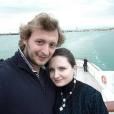 Amaury Leveaux et sa compagne Elizaveta