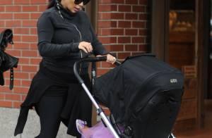Kim Kardashian, enceinte : Sexy pour lancer sa Fashion Week !
