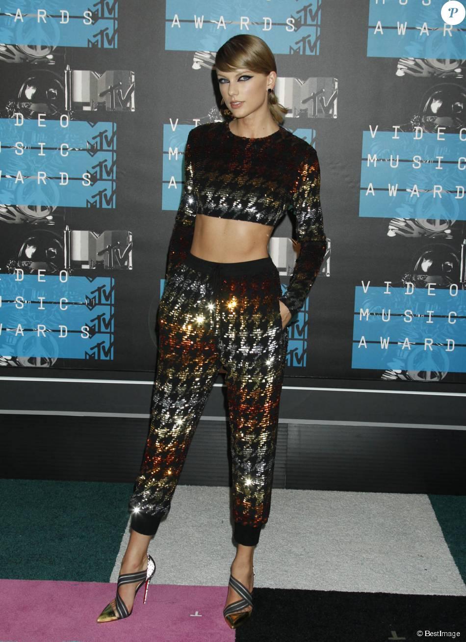 Taylor Swift - Soirée des MTV Video Music Awards à Los Angeles le 30 aout 2015.