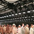 Présentation de la collection Yeezy Season 2 au Skylight Modern. Photo publiée le 16 septembre 2015.