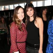 Fashion Week : Olivia Wilde craquante et séduite par Kendall Jenner