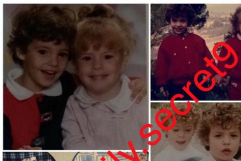 Secret Story 9 - Emilie et Loïc enfants : Un tendre cliché dévoilé !