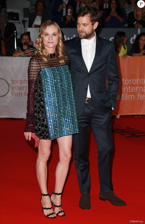 """Joshua Jackson et sa compagne Diane Kruger à l'avant-première du film """"Maryland"""" lors du Festival International du Film de Toronto le 17 septembre 2015"""