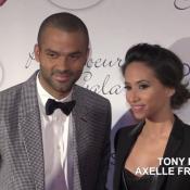 Tony Parker et Axelle, couple complice avec Omar et Hélène Sy au Par Coeur Gala
