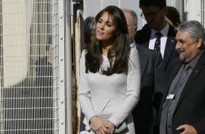 Kate Middleton : Visite surprise (et toute grise) dans une prison pour femmes...