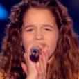 Justine rejoint l'équipe de Jenifer dans The Voice Kids, le vendredi 25 septembre 2015, sur TF1