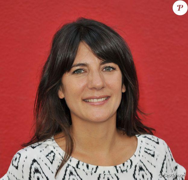 Estelle Denis - 3e trophée de la Pétanque Gastronomique au profit de l'Etoile de Martin (association qui soutient la recherche sur les cancers pédiatriques) à Paris le 2 juillet 2015.