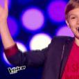 Lenni-Kim rejoint l'équipe de Patrick Fiori dans  The Voice Kids , le vendredi 2 octobre 2015, sur TF1.
