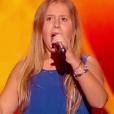 Maeva est éliminée dans  The Voice Kids , le vendredi 2 octobre 2015, sur TF1
