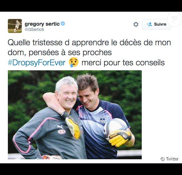 Ancien gardien légendaire des Girondins, Dominique Dropsy est mort mercredi 7 octobre 2015, à 63 ans.