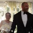 Dave Bautista a épousé sa belle Sarah - octobre 2015