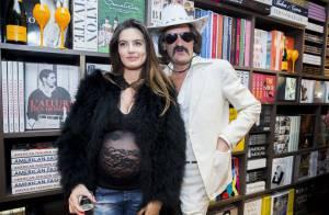 Frédéric Beigbeder : Sa femme enceinte dévoile ses rondeurs en dentelle