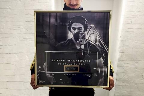Zlatan Ibrahimovic disque d'or: Son slam de l'hymne suédois bat tous les records