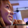 Shy'm - À ses débuts, le stress de monter sur scène rendait littéralement la chanteuse malade. Elle témoigne dans le programme  C à vous  sur France 5, le 19 octobre 2015.