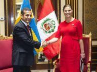 Princesse Victoria, enceinte : Baby-bump éclatant au Pérou !