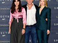 Léa Seydoux, chic James Bond girl aux côtés de Daniel Craig et Monica Bellucci