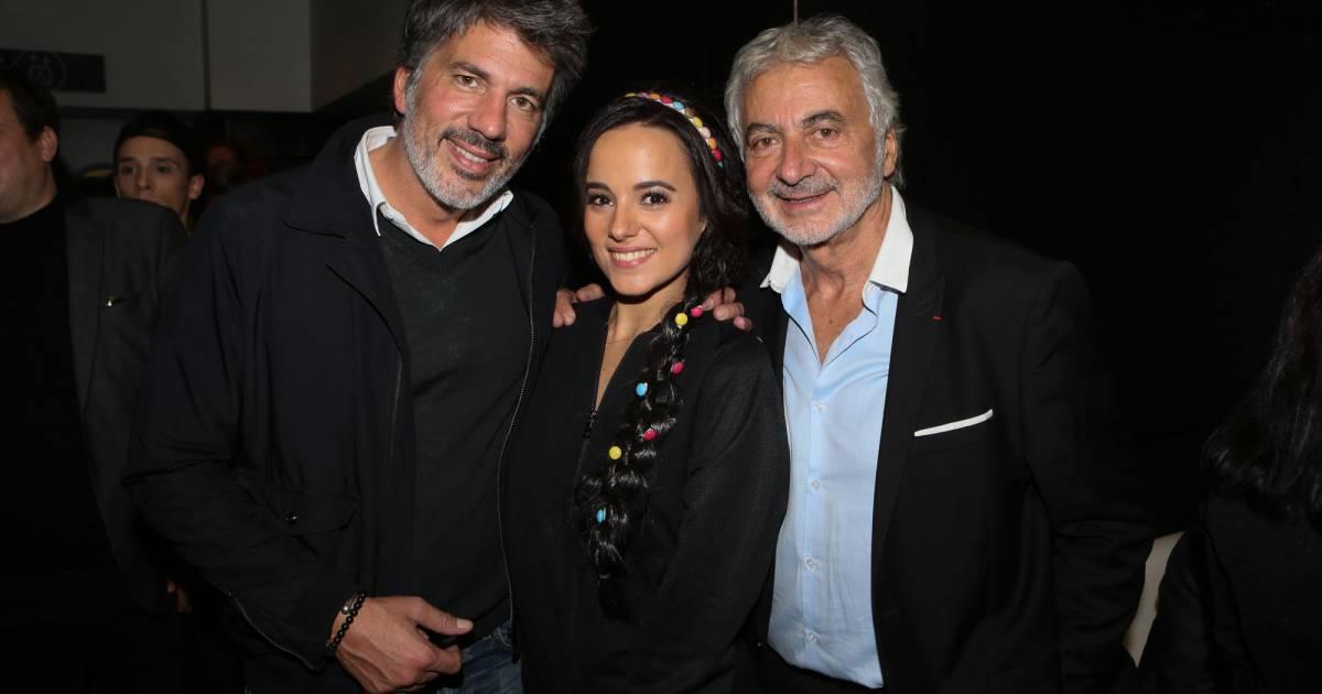 Fabien provost aliz e franck provost backstage du - Franck provost lissage bresilien salon ...