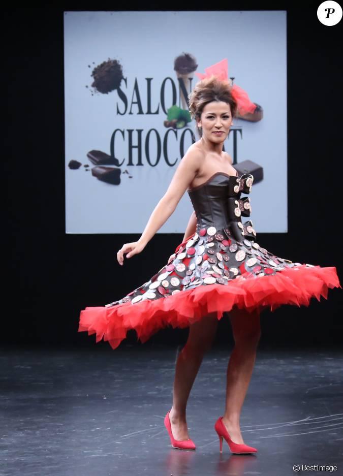 Karima charni d fil du 21 me salon du chocolat la for Salon 2015 porte de versailles