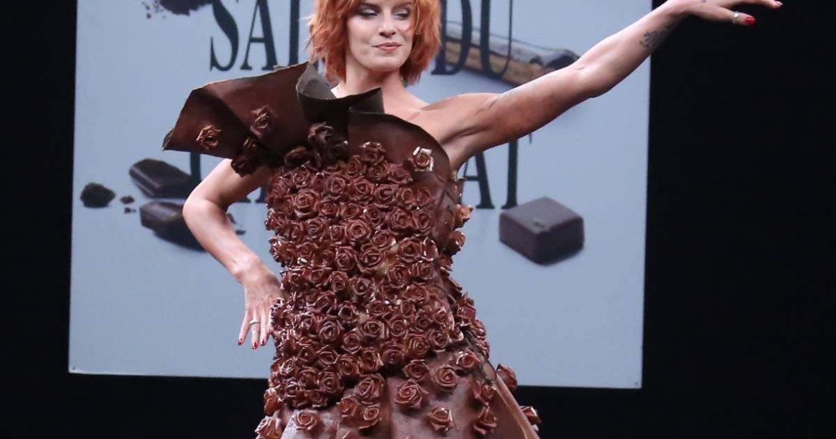 Fauve hautot divine d fil du 21 me salon du chocolat for Salon a porte de versaille 2015