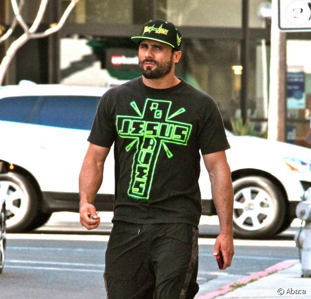 Jeremy Jackson dans les rues de Beverly Hills, le 10 avril 2013