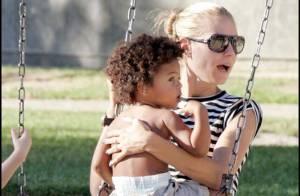 REPORTAGE PHOTOS : Heidi Klum, pause câlins et jeux, avec ses adorables petits !
