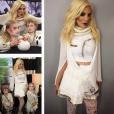 Tori Spelling et ses enfants déguisés pour Halloween / photo postée sur le compte Instagram de l'actrice.