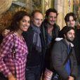 Laurie Cholewa et Vincent Cerutti au Manoir de Paris, le 23 octobre 2014
