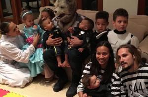 Vin Diesel, papa déguisé, dévoile le visage des jumeaux de Zoe Saldana...
