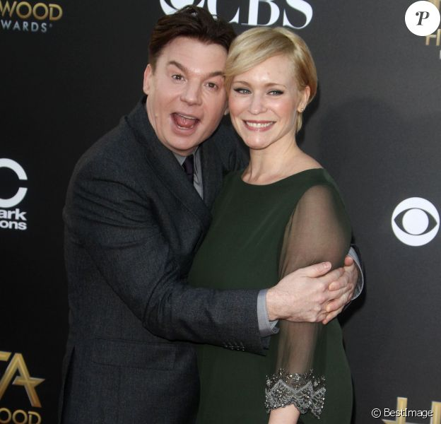 """Mike Myers, Kelly Tisdale - 18ème gala annuel """"Hollywood Film Awards"""" à Hollywood, le 14 novembre 2014"""