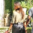 Kim Kardashian et Kanye West à Miam. Octobre 2012.