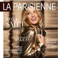 Ilona Smet en couverture du magazine La Parisienne, supplément mensuel gratuit du quotidien Le Parisien. Numéro du samedi 7 novembre 2015.