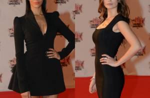 NRJ Music Awards 2015 : Shy'm et Lucie Lucas, duel sexy sur le tapis rouge !