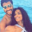 Ciara, son compagnon Russell Wilson et son fils Future en vacances au Mexique. Novembre 2015.