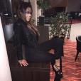 Nabilla : Sexy et féline pour Halloween