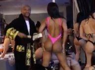 Floyd Mayweather : Entouré de danseuses sexy, le boxeur profite de sa retraite