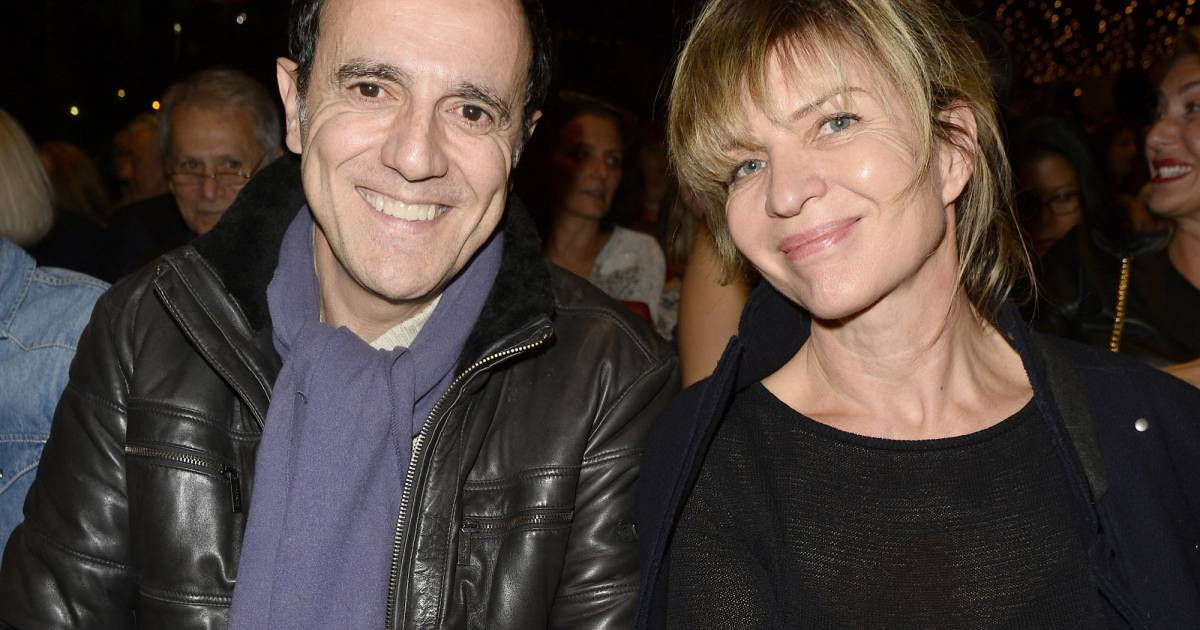 Exclusif thierry beccaro et sa femme emmanuelle concert priv mfm radio de alain souchon et - Thierry beccaro pauline beccaro ...