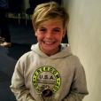 """""""Le fils de Britney Spears, Sean Preston, 10 ans, récompensé à son école pour le prix de camaraderie."""""""