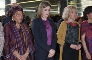 Letizia d'Espagne : Minute de silence entre femmes d'influence pour la France