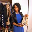 Marie et ses chaussures pailletées dans Les Reines du shopping, le 12 octobre 2015