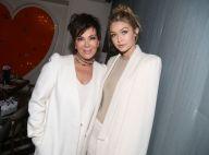 Kris Jenner in love face à Gigi Hadid : Belles en blanc pour un moment précieux