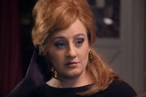 Adele : Hilarante et bluffante en sosie d'elle-même pour un concours !