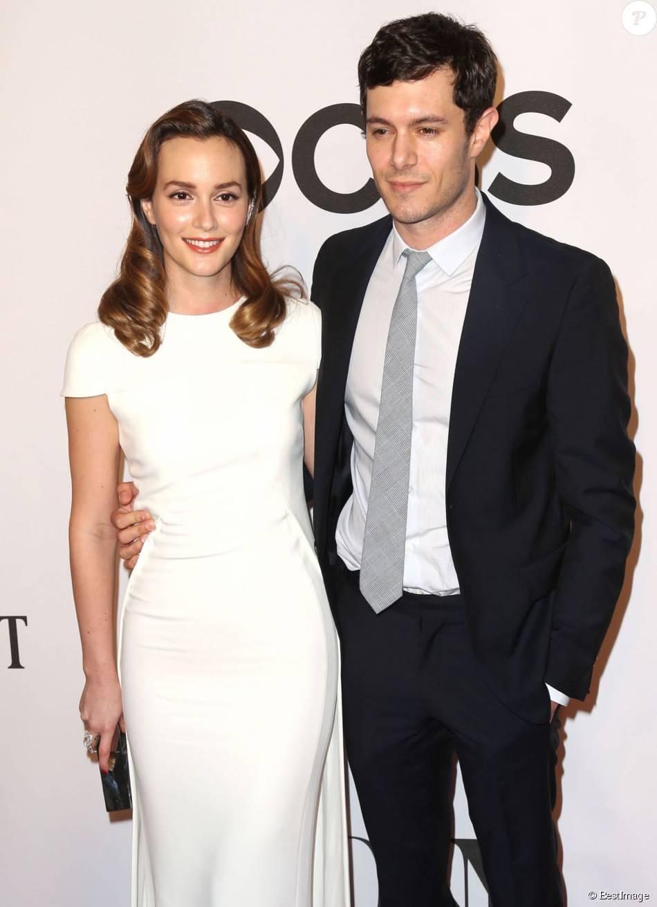 "Leighton Meester et son mari Adam Brody - 68ème cérémonie des ""Tony Awards"" à New York, le 8 juin 2014."