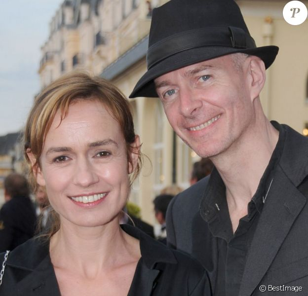 Sandrine Bonnaire et Guillaume Laurant lors du Festival du film de Cabourg en 2008