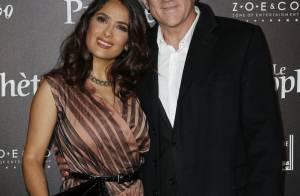 Salma Hayek et sa fille Valentina :