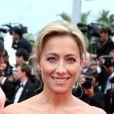 Anne-Sophie Lapix à Cannes le 23 mai 2015.