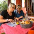 Muriel et Sabine, prétendantes de Philippe, dans  L'amour est dans le pré - seconde chance , le lundi 7 décembre 2015 sur M6.