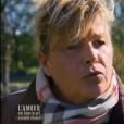 Sabine, prétendante de Philippe, dans  L'amour est dans le pré - seconde chance , le lundi 7 décembre 2015 sur M6.