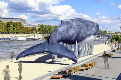 Isabelle Adjani, Marion Cotillard et Kev Adams, fous d'une baleine bleue