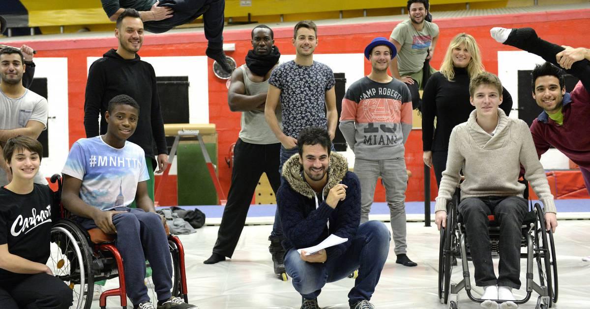 Exclusif  Alex Goude et sa troupe lors des répétitions du  ~ Danse Rosny Sous Bois