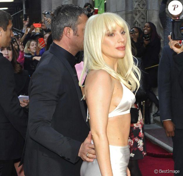 Lady Gaga et son fiancé Taylor Kinney - Soirée Billboard's 10th Annual Women In Music à New York le 11 décembre 2015.
